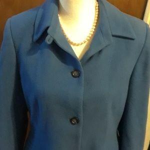 Pretty blue pea coat, sizell 12P
